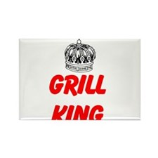 Grill King Magnets