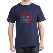 Odd Even Numbers T-Shirt