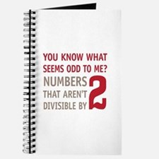 Odd Even Numbers Journal