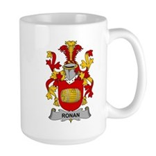 Ronan Family Crest Mugs