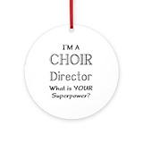 Choir director Ornaments