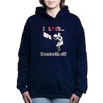 I Love Basketball Hooded Sweatshirt
