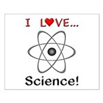 I Love Science Small Poster