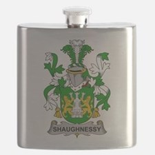 Shaughnessy Family Crest Flask