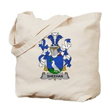 Sheehan Family Crest Tote Bag