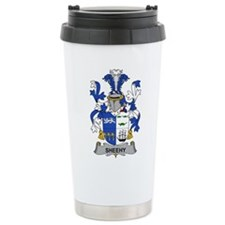 Sheehy Family Crest Travel Mug
