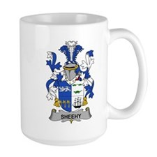 Sheehy Family Crest Mugs