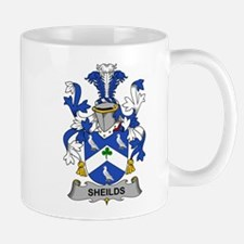 Sheilds Family Crest Mugs