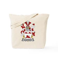 Slattery Family Crest Tote Bag