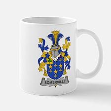 Somerville Family Crest Mugs