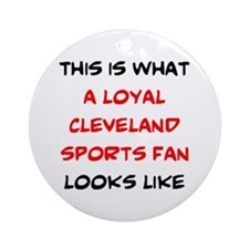 cleveland Ornament (Round)