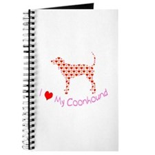 i heart my coonhound Journal
