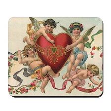 Vintage Valentine's Day Mousepad