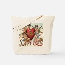 Vintage Valentine's Day Tote Bag