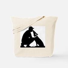 German Shepherd Kiss Tote Bag