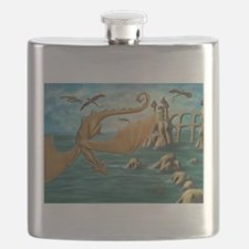 City of Dragons Flask