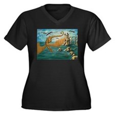 City of Dragons Plus Size T-Shirt