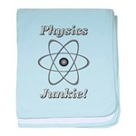 Physics Junkie baby blanket