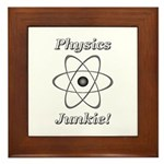 Physics Junkie Framed Tile