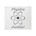 Physics Junkie Throw Blanket