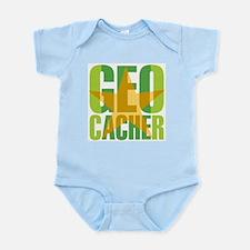 Star Geocacher Green Infant Bodysuit