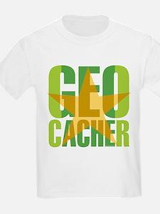 Star Geocacher Green T-Shirt