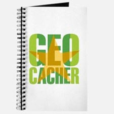 Star Geocacher Green Journal