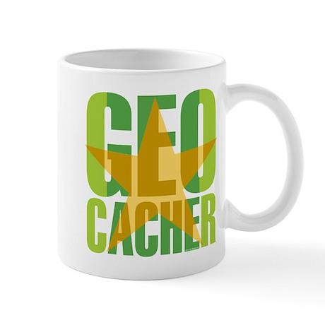 Star Geocacher Green Mug