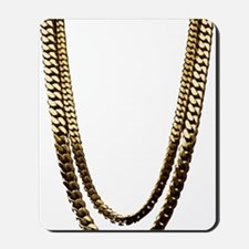 Gold Chains Mousepad