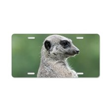 Meerkat038 Aluminum License Plate