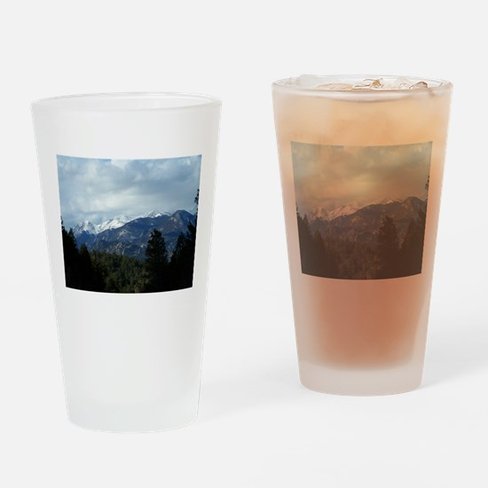 The Rockies Drinking Glass