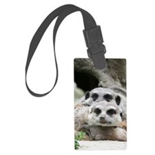 Meerkat042 Luggage Tag
