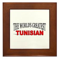 """The World's Greatest Tunisian"" Framed Tile"