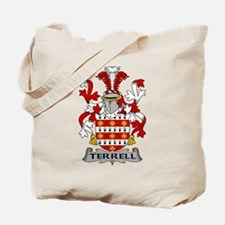 Terrell Family Crest Tote Bag