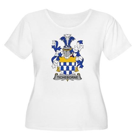Ticheborne Family Crest Plus Size T-Shirt