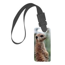 Meerkat056 Luggage Tag