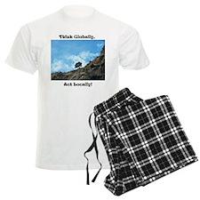 Think Globally, Act Locally (1) Pajamas