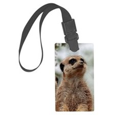 Meerkat062 Luggage Tag