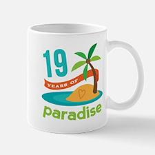 19th Anniversary Paradise Mug