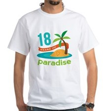 18th Anniversary Paradise Shirt