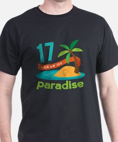 17th Anniversary Paradise T-Shirt