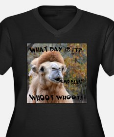What Day is it? Camel Plus Size T-Shirt
