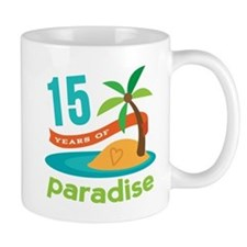15th Anniversary Paradise Mug