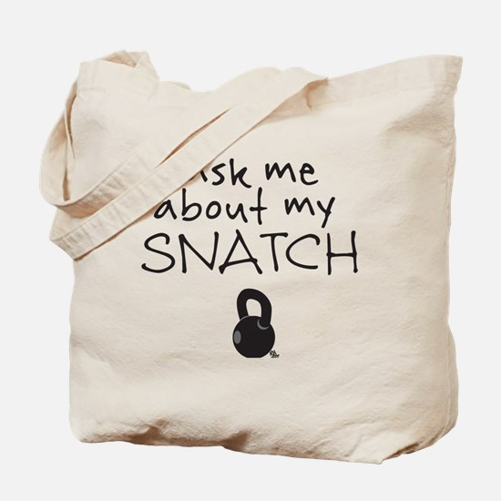 Snatch (Kettlebell) Tote Bag