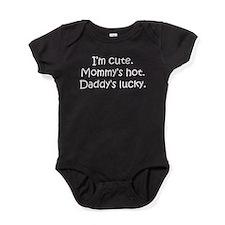 Daddys Lucky Baby Bodysuit