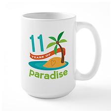11th Anniversary Paradise Mug