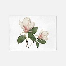 Vintage botanical art, elegant magnolia flower. 5'
