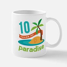 10th Anniversary Paradise Mug