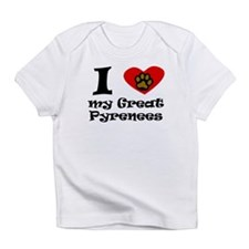 I Heart My Great Pyrenees Infant T-Shirt