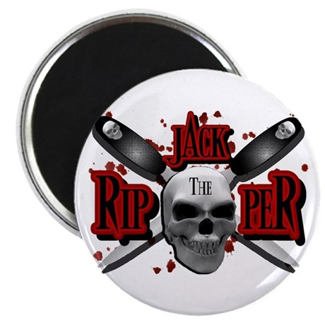 Jack the Ripper Red Magnet
